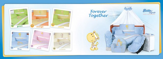 Tuttolina - 4D povlečení Forever Together Cream