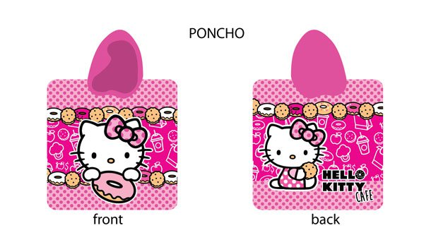 Pončo HELLO KITTY > varianta HELLO KITTY