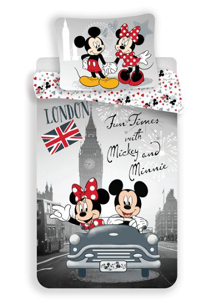 Povlečení Mickey and Minnie in London > varianta 17