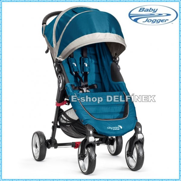 Baby Jogger City Mini 4 kola 2017 > varianta Teal Gray