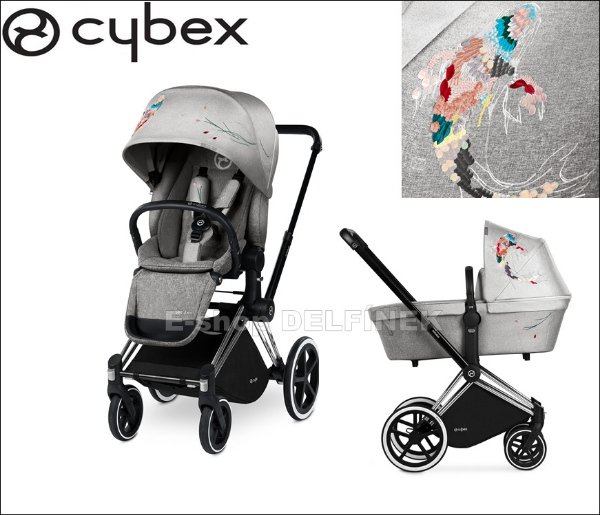 Cybex Set Priam All Terrain Seat Lux Fashion 2018 > varianta Koi