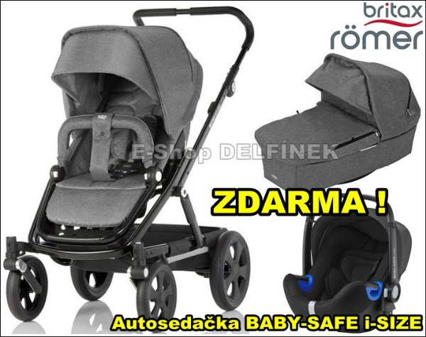 BRITAX GO Big 2017 set > varianta Grey melange