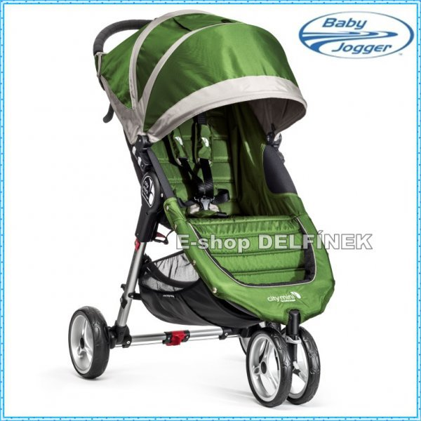Baby Jogger City Mini 2017 > varianta lime gray