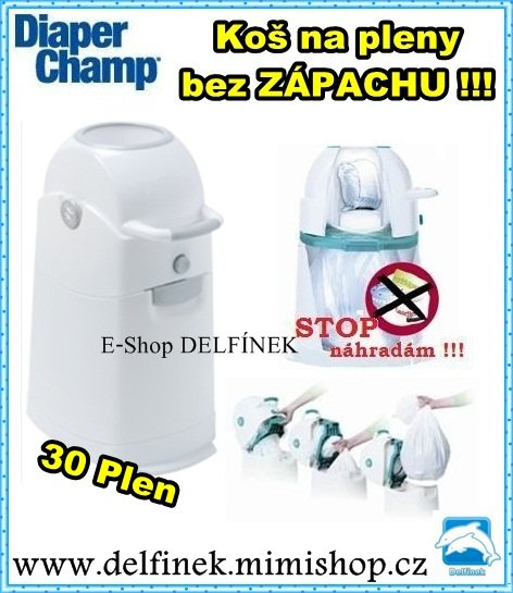 KOŠ NA PLENY Diaper Champ REGULAR > varianta REGULAR 30 PLEN