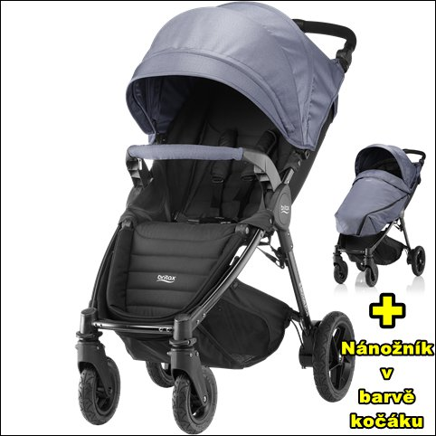 BRITAX B-Motion 4 Plus 2018 > varianta Blue Denim
