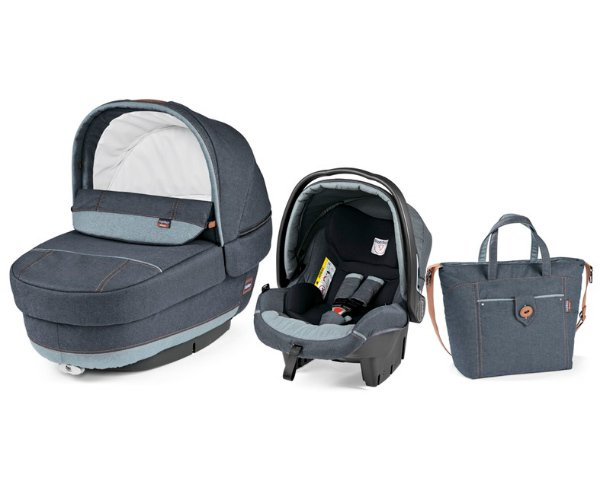 Peg Perego Set Modular Elite 2017 > varianta Blue Denim
