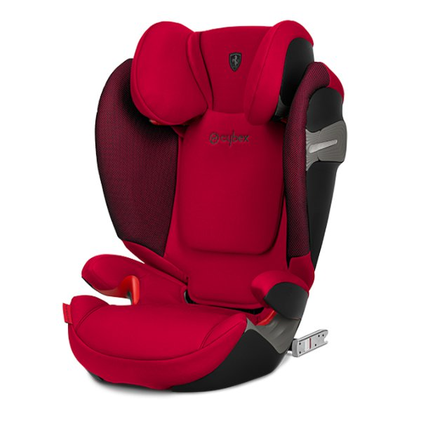 Cybex Solution S-fix 2019 > varianta FERRARI Racing Red