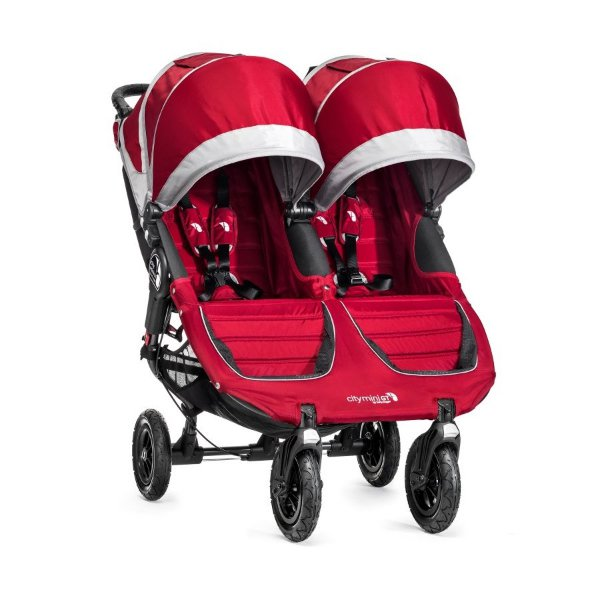 Baby Jogger City Mini Double GT 2018 > varianta CRIMSON/GRAY