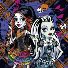 Ubrousky Monster High, 20 ks > varianta 3