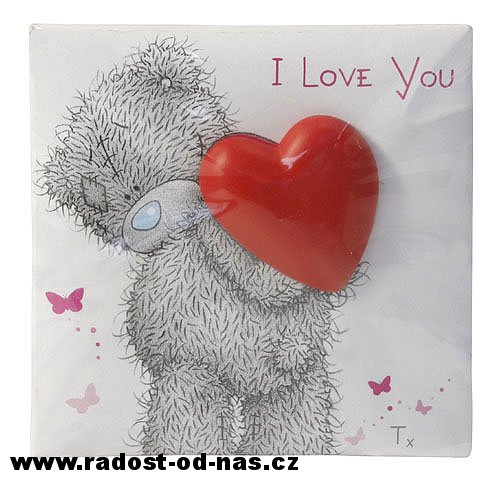Me to you Magnet I Love You