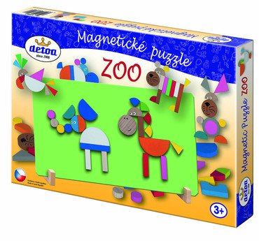 Magnetické puzzle > varianta ZOO