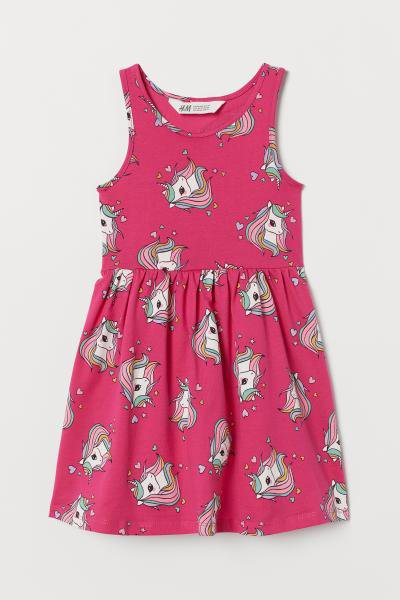 ŠATY UNICORN TUNIKA ZN. H&M > varianta 6 - 8 LET > 7-8let (122-128)