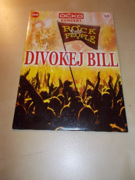 ÓČKO KONCERT - DIVOKEJ BILL - ROCK FOR PEOPLE (DVD v pošetce)