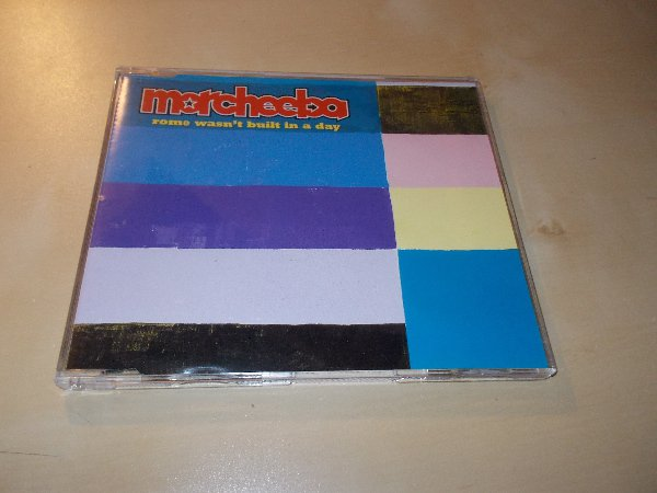 Morcheeba - Rome Wasn´t Built in a Day (CD single) ČASOVĚ OMEZENÁ AKCE