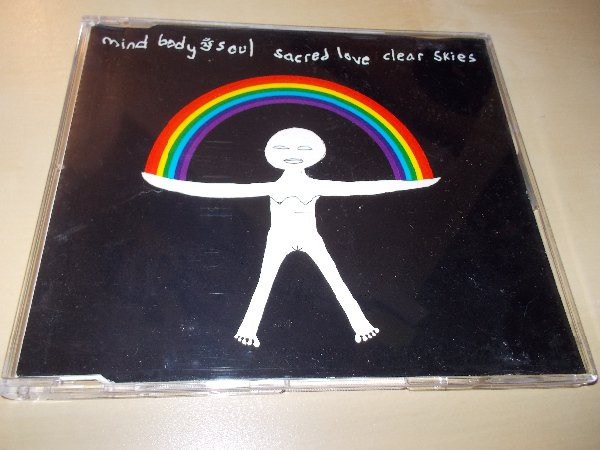 Mind Body & Soul ‎– Sacred Love / Clear Skies (CD single) ČASOVĚ OMEZENÁ AKCE