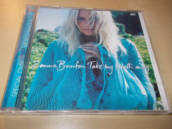 Emma Bunton - Take My Breath Away (DVD Video/CD Single) ČASOVĚ OMEZENÁ AKCE