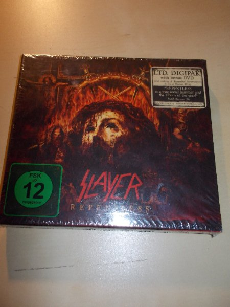 SLAYER - REPENILESS (CD/DVD)