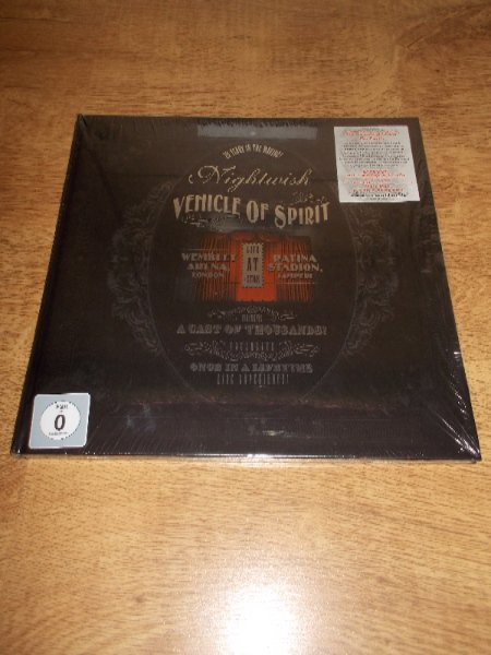 Nightwish ‎– Vehicle Of Spirit (2 Blu-Ray Disc + 3 DVD + 2 CD) LP OBAL