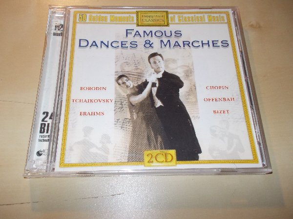 Various - 50 GOLDEN MOMENTS - FAMOUS DANCES AND MARCHES (2CD) BAZAR