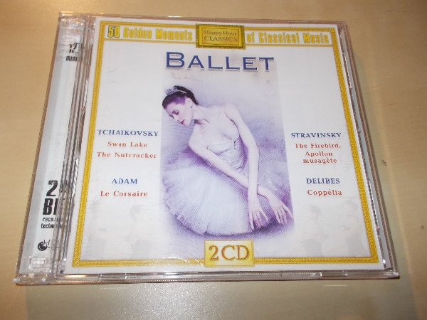 Various - 50 GOLDEN MOMENTS - BALLET (2CD) BAZAR