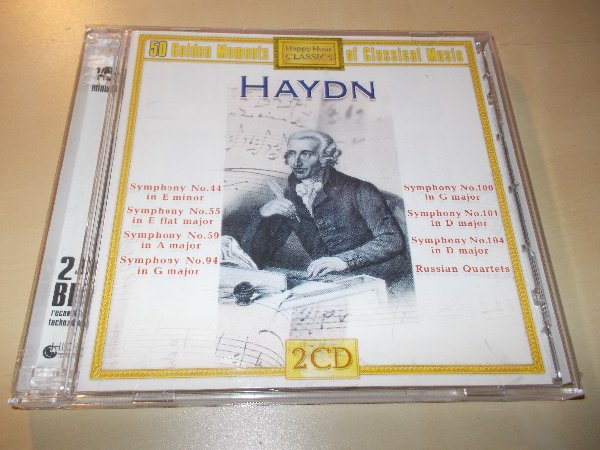 Various - 50 GOLDEN MOMENTS - HAYDN (2CD) BAZAR