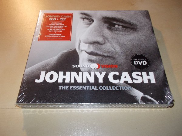 Johnny Cash - The Essential Collection (2CD+DVD)