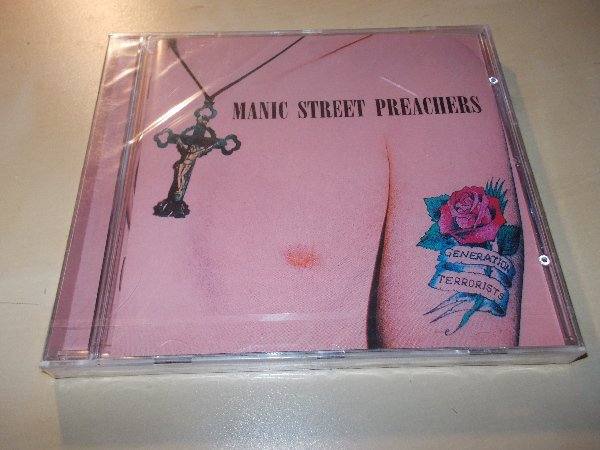 MANIC STREET PREACHERS - GENERATION TERRORISTS (CD)