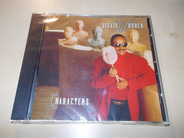Stevie Wonder - CHARACTERS (CD)