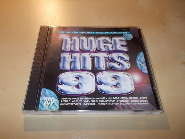 Huge Hits 99 - Various Artists (1999 Double 2CD Album)