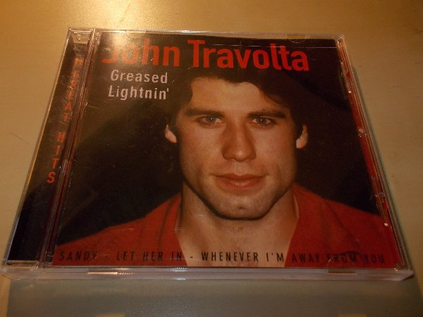 JOHN TRAVOLTA - GREASED LIGHTNIN (CD)