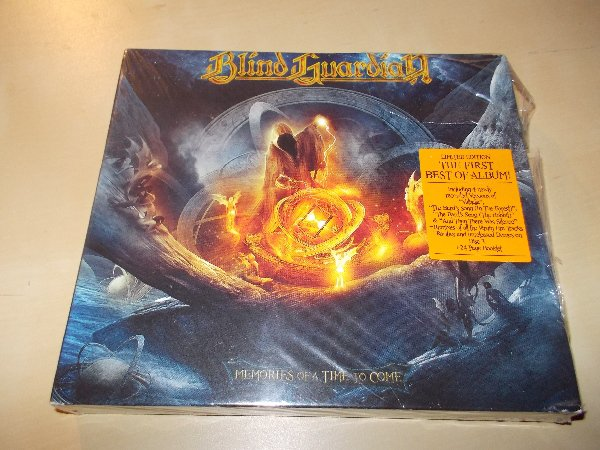 Blind Guardian ‎– Memories Of A Time To Come - (Limited Edition)  (3CD)
