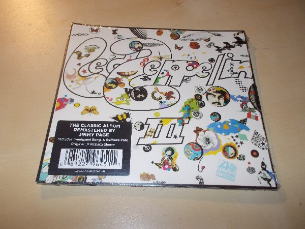 Led Zeppelin : Led Zeppelin III (Remastered Original) (CD)