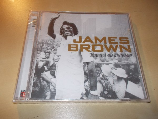 JAMES BROWN - THE ORIGINAL FUNK SOUL BROTHER (2CD)