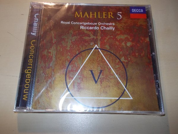 Mahler-  Riccardo Chailly, Royal Concertgebouw Orchestra* ‎– Symphony No. 5 (CD)