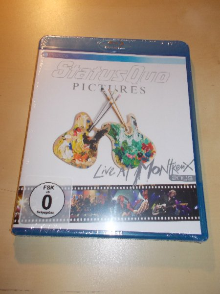 Status Quo - Pictures - Live At Montreux  2009 (Blu-ray)