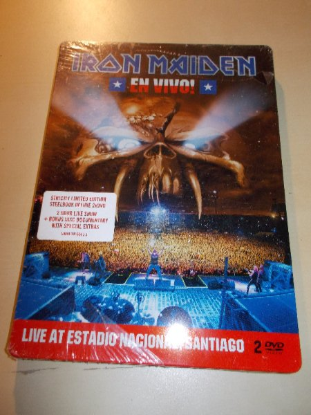 Iron Maiden - En Vivo! (Live In Santiago de Chile) (2DVD)
