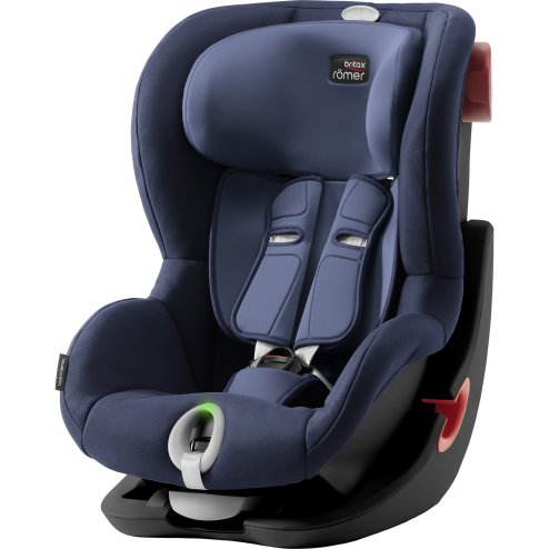 Autosedačka BRITAX RÖMER King II LS Black > varianta Moonlight blue
