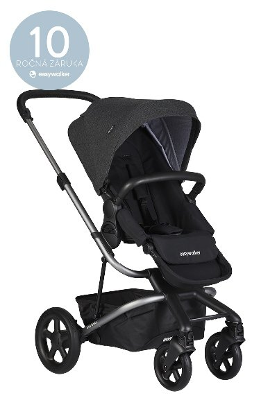 Kočárek Easywalker  Harvey2 (Platinum Edition) > varianta Night Black