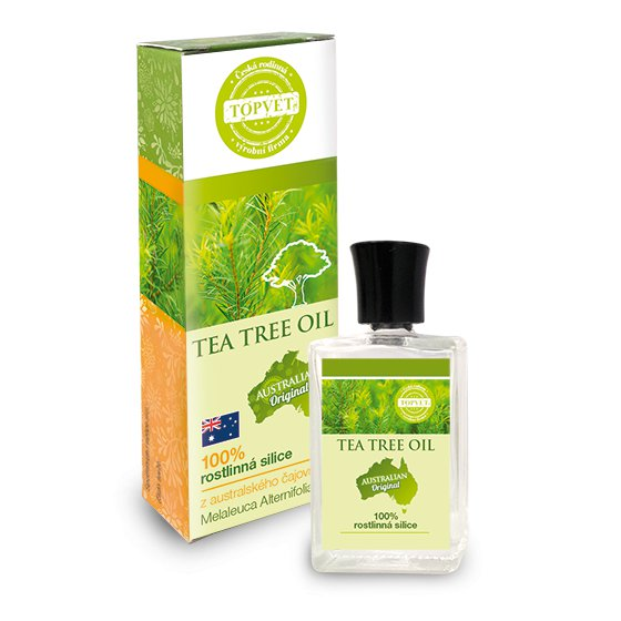 TOPVET Tea tree oil - 100% silice > 10ml