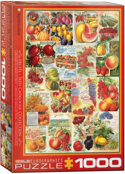 Puzzle Ovoce 1000