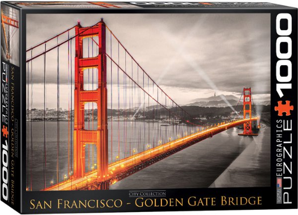 Puzzle San Francisco Golden Gate Bridge 1000
