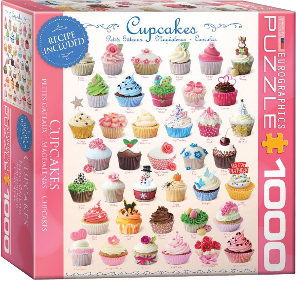 Puzzle EuroGraphics Cupcakes 1000