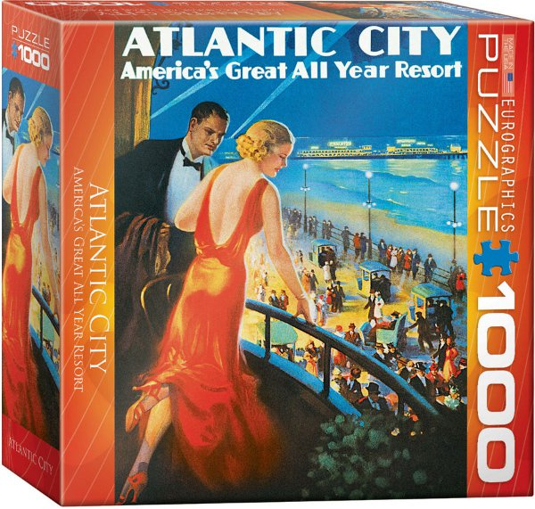 Puzzle Atlantic City 1000