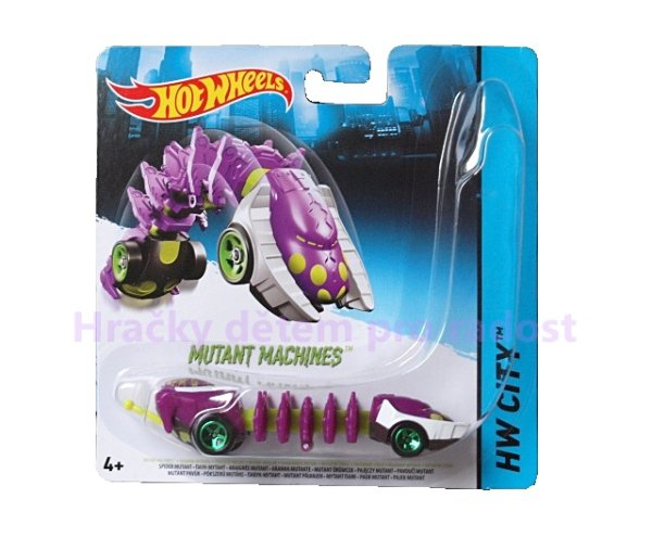 Hot Wheels auto mutant > varianta Spider Mutant