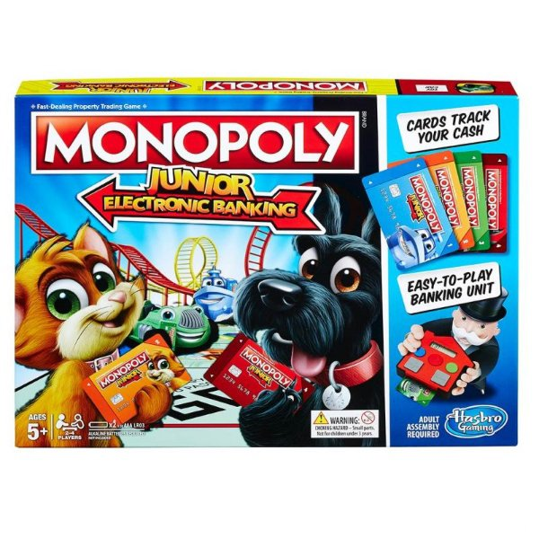 Monopoly Junior Electronic Banking