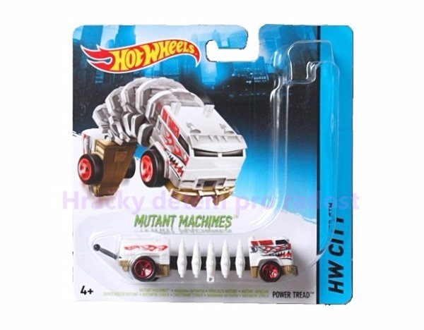 Hot Wheels auto mutant > varianta Power tread