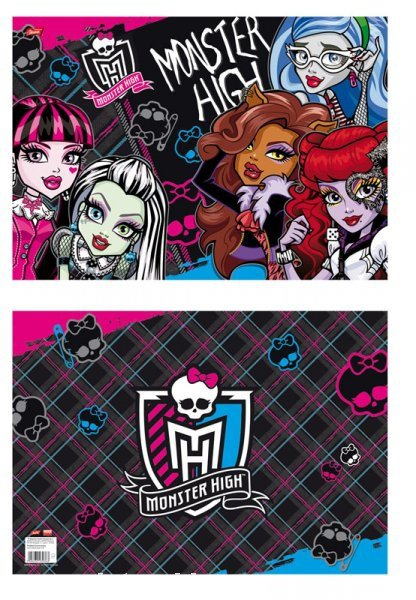 PROSTÍRÁNÍ MONSTER HIGH > varianta 09
