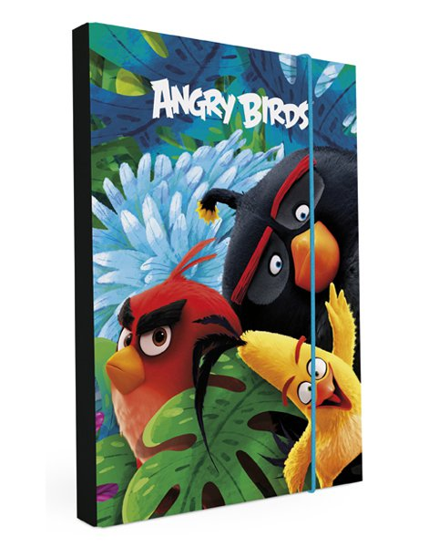 HEFT BOX, DESKY NA SEŠITY A5 ANGRY BIRDS MOVIE > varianta box A5