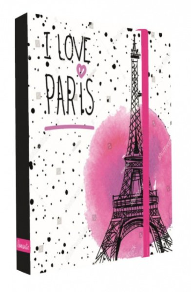 Heft box A4 - Jumbo - Karton P + P - Romantic Nature - Paris > varianta box A4 jumbo