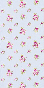 Tilda látka : Fat Quarter > varianta Roses Light Blue